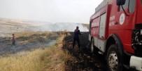 BEŞPıNAR - Buğday Tarlasında Yangın