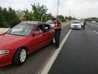 TRAFİK KURALLARI - Elazığ'da Trafik Uygulaması, 19 Araca Ceza İşlem Uygulandı