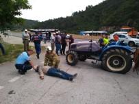 Havran'da Can Pazarı Yaşanan Kaza Ucuz Atlatıldı Açıklaması 4 Yaralı