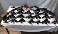 Jandarma Bayram Tatili Boyunca Yaptığı Denetimlerde 23 Silah Ele Geçirdi