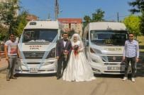 SERVİS ŞOFÖRÜ - Servis Minibüslerinden Düğün Konvoyu