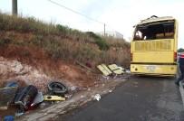 YOLCU OTOBÜSÜ - Bandırma'da Otobüs Kazası  Açıklaması 4 Ölü 42 Yaralı