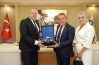 LETONYA - Başkan Böcek'ten Letonya-Antalya İlişkilerine Tam Destek