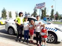 Çocuklara Sürücü Seyahat Karneleri Verildi