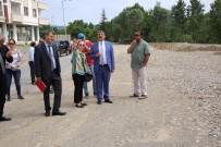 PİKNİK ALANI - Daire Müdürleri İle Park Alanında İnceleme