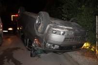 Düğünden Dönen Minibüs Kaza Yapı Açıklaması 3 Yaralı