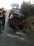 TİCARİ TAKSİ - Hasta Taşıyan Ticari Taksi Kaza Yaptı Açıklaması 2 Ölü, 5 Yaralı