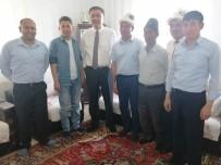KıRGıZISTAN - Kırgızistan Ankara Büyükelçisi Kubanyehbek Omuraliyev Erciş'te