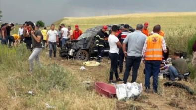 Kırıkkale'de Feci Kaza Açıklaması Aynı Aileden 2'Si Çocuk 7 Yaralı