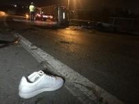AŞIRI HIZ - Küçükçekmece'de Trafik Kazası; 1 Ölü 5 Yaralı