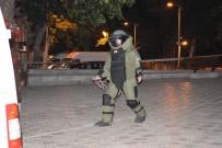 DİŞ FIRÇASI - Malatya'da Şüpheli Valiz Fünyeyle Patlatıldı