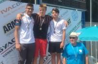 ALTIN MADALYA - Milli Yüzücüden Bulgaristan'da Büyük Başarı