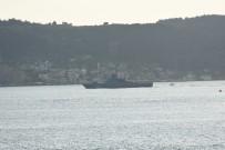 SAVAŞ GEMİSİ - Rus Savaş Gemisi 'Vasily Bykov' Akdeniz'e İniyor