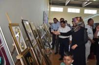 Sincik Halk Eğitim Merkezinde Yılsonu Sergisi Açıldı