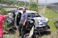 İSLAM - TEM'de feci kaza: 2 ölü, 5 yaralı