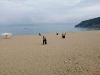PİKNİK ALANI - Temizlik Ekiplerinden Piknik Alanı Ve Sahilde Hummalı Çalışma