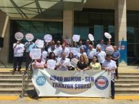 YARGI REFORMU - Trabzon'da Adliye Personelinden Yargı Reformu Paketi'ne Tepki