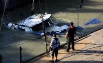 SUDAN - Tuna Nehri'nde Batan Yolcu Teknesi Çıkarılıyor