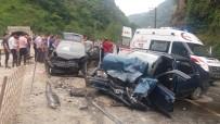 Uzungöl Yolunda Kaza Açıklaması 3 Yaralı