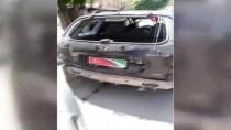 FIRAT KALKANI - Afrin'de Bir Araca Bombalı Saldırı
