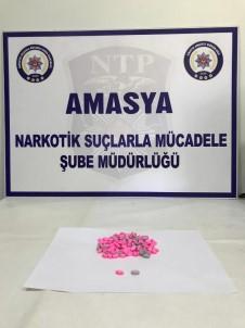 Amasya'da Uyuşturucu Operasyonu Açıklaması 4 Gözaltı