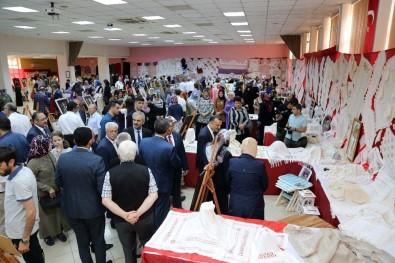 Gümüşhane'de Kursiyerlerin Bir Yıllık Emekleri Görücüye Çıktı