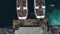 İstanbullular Ramazan Bayramı'nda Vapurlara Akın Etti