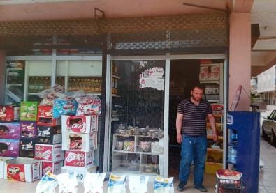 İzmir'de Ruhsatsız Çalışan Sığınmacıların Dükkanları Kapatıldı