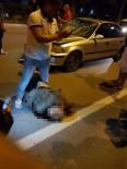 Karşıya Geçerken Otomobilin Çarptığı Adam Öldü