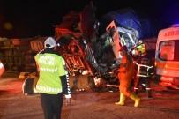Kırıkkale'de Trafik Kazası Açıklaması 2 Ölü, 17 Yaralı