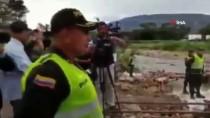 KOLOMBIYA - Kolombiya Polisi, Venezuelalıları Engellemek İçin Köprü Söküyor