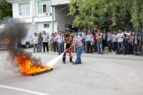 Her Açıdan - Meram Belediyesi Personeline Yangın Eğitimi