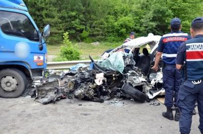 Korkunç kaza! İki üniversite öğrencisi feci şekilde can verdi