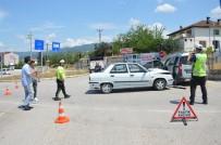Tokat'ta Otomobiller Çarpıştı Açıklaması 10 Yaralı