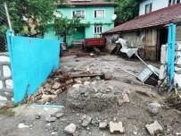 Tozman Köyü Felaketin Eşiğinden Döndü
