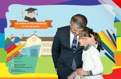 Vali Yazıcı'dan Öğrencilere Tatil Mesajı
