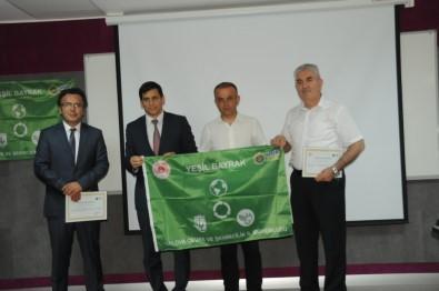 Yalova'da Çevre Dostu Okullara 'Yeşil Bayrak'