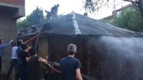 Yangın İtfaiye Vatandaş El Birliği İle Söndürüldü
