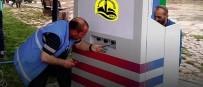 Yeni Şehir Parkı'na Engelli Aracı Şarj İstasyonu Kuruldu