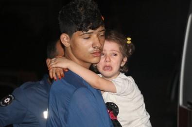 Adana'da 2 Katlı Müstakil Ev Alev Alev Yandı Açıklaması 6 Çocuk Dumandan Etkilendi