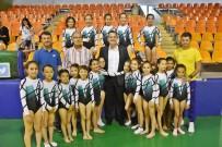 Akhisar'da İlk Kez Cimnastik Şenliği Düzenlendi