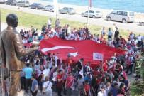 Atatürk Ve İstiklal Yolu Yürüyüşü, İnebolu'dan Başladı
