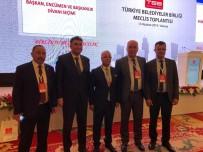 CENGIZ ERGÜN - Başkan Ergün Türkiye Belediyeler Birliği Yönetimine Seçildi