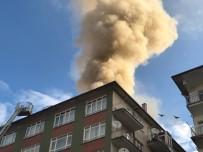 VATAN CADDESİ - Başkent'te Çatısı Yanan Bina Boşaltıldı