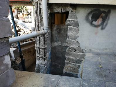Güngören'de Yıkılma Tehlikesi Bulunan 6 Katlı Bina Boşaltıldı