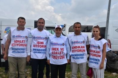 Hak-İş'in Yürüyüşüne İzmir'den De Katılım Oldu