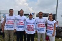 İSTİFA - Hak-İş'in Yürüyüşüne İzmir'den De Katılım Oldu
