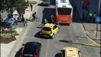 KIRMIZI IŞIK - Hatalı Sürücü Ve Yayalar Drone'dan Kaçamadı