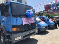DAMPERLİ KAMYON - İETT VE İSKİ'den Çatalca Belediyesine Araç Yardımı