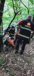 Ihlamur Toplarken Ağaçtan Düşen Genci İtfaiye Kurtardı